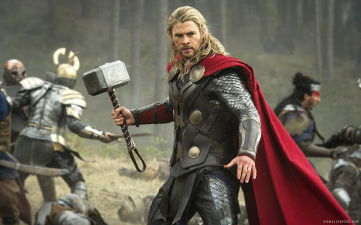 Chris Hemsworth continues to shine as the God of Thunder.
