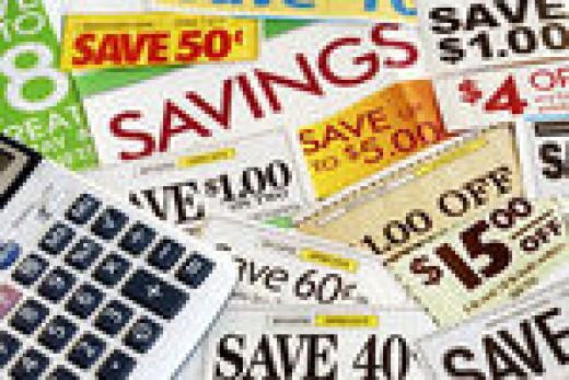 Clipping coupons for big savings