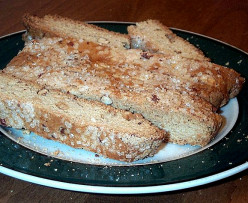 Healthy Low-Cal Biscotti Recipe Using Whole Wheat, Almond Flour