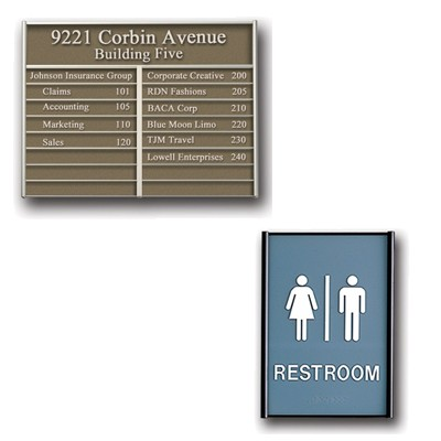 Engraved Office Signage