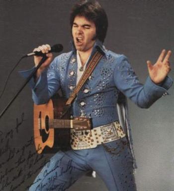 Bruce Borders as Elvis Presley