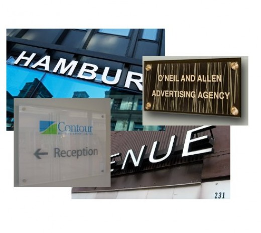 Indoor and Outdoor Signs - Architectural Sign Systems