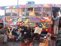 The Twelve Tribes bus