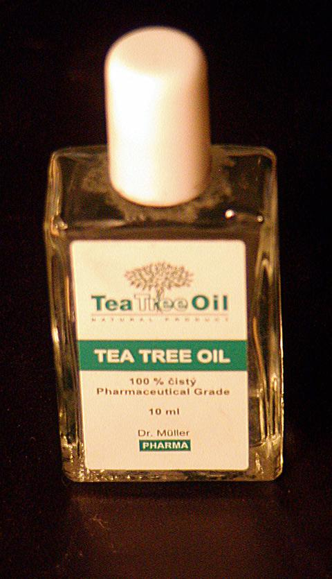 Tea tree oil can be used to help in cases of acne.