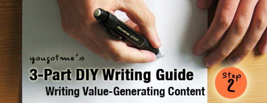 Do-It-Your-Own Writing Guide - Writing Value-Generating Content