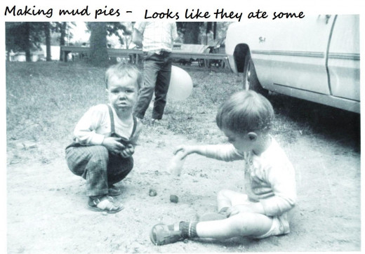 Why do little boys love to play in the dirt? (i.e. make mud pies