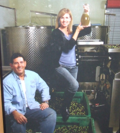 Photo of Mr. And Mrs. Rea. Owners of The Olive Mill and Queen Creek Arizona