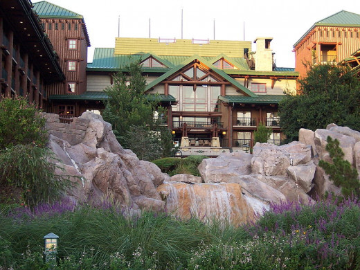Staying at the Wilderness Lodge is like a mini vacation within your vacation.