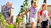 Kids at Disney world