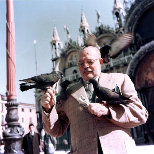 Ernest Hemingway, 1954 Public Domain