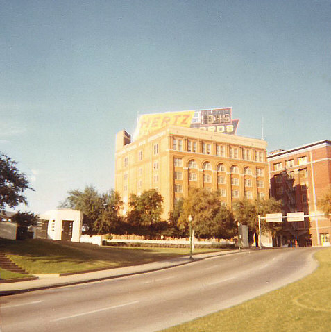 Dealey Plaza, late 1960s.