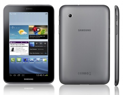 Great gift ideas for boyfriend: The Samsung Galaxy Tablet