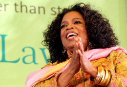 Oprah Winfrey does TM and so does Dr.Oz. Oprah also helped Eckhart Tolle to become famous.