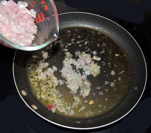 add shallots to reserved pan juices. Simmer until translucent