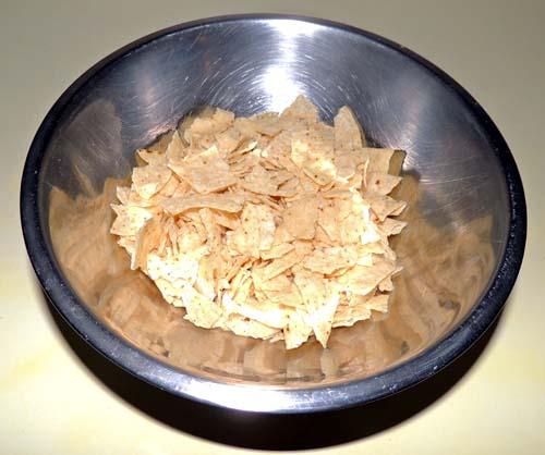 smash some tortilla chips.