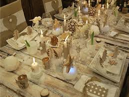 Don't forget the candles for Christmas and using simple colours can also look amazing