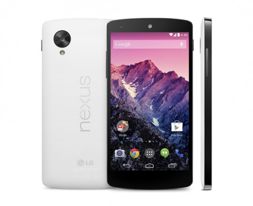 Nexus 5 by Google and LG (white)