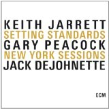 "Keith Jarrett Album Cover ""Setting Standards, New York Sessions"""