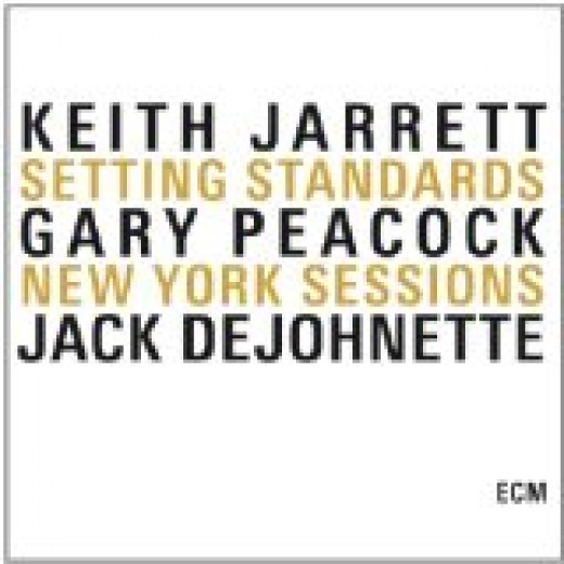 "Keith Jarrett Album Cover ""Setting Standards, New York Sessions"""