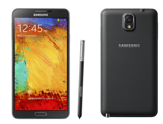 The Samsung Galaxy Note 3 and its unique S-Pen and strange leather backside