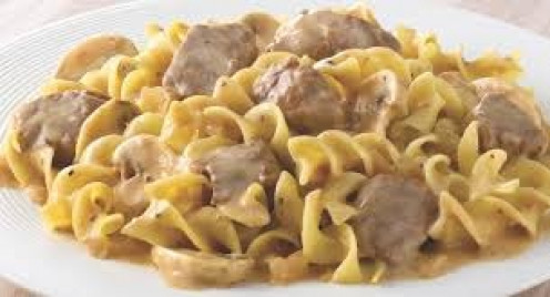 Beef Stroganoff is a delicious meal when it is properly seasoned and prepared.