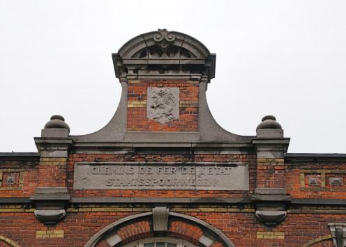 Railway frontage detail, Herstal