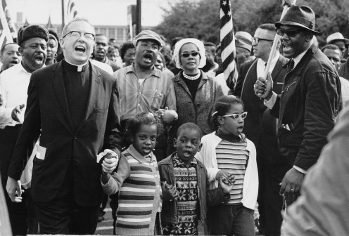 With Co founder of the Civil Rights Movement and Martin Luther King Jr. and Mrs. King.