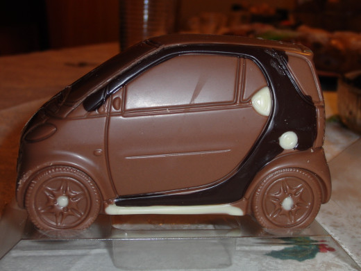 Smart Automobile in Chocolate