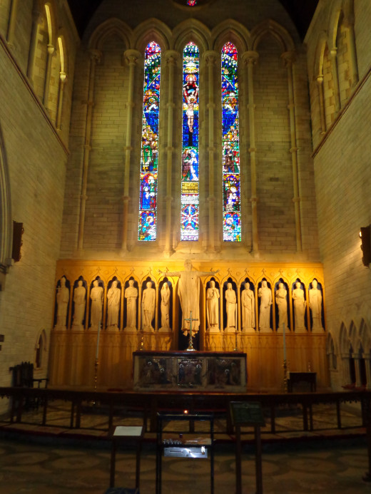Church Altar, St. Peter's Church, Bermuda