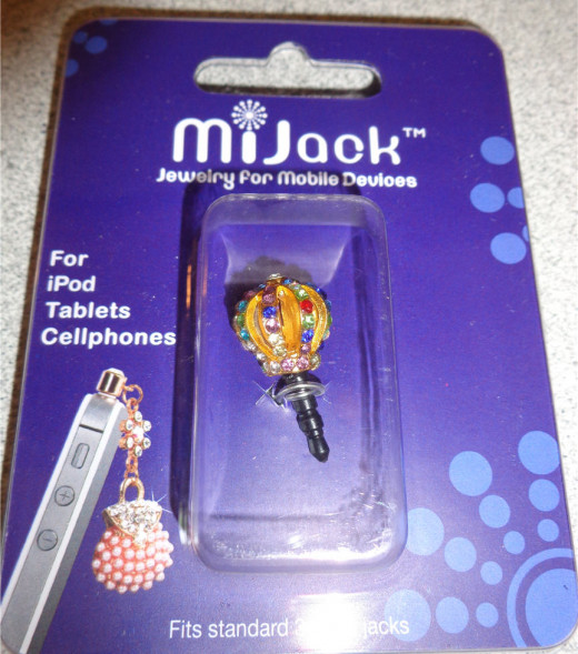 MiJack Jewelry for Mobile Devices - Crown