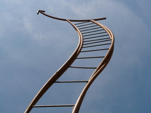 Is the corporate ladder moving?