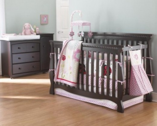 This Stork Craft Tuscany 4-in-1 Stages Crib is a very stylish and affordable crib. This is one of the safest cribs on the market. My baby has this crib and my husband and I love it.