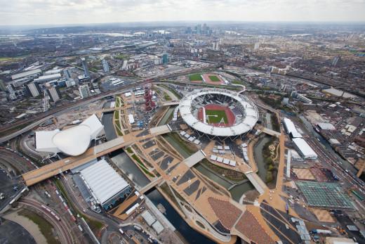 Queen Elizabeth Olympic Park, 2012