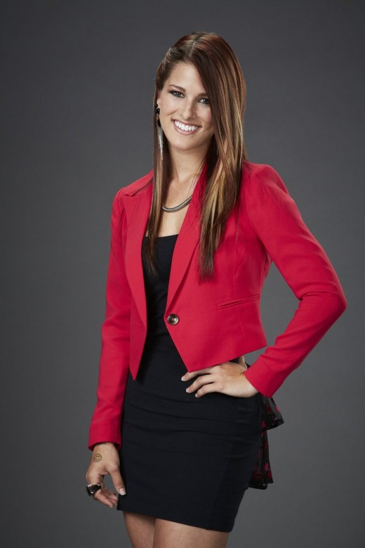 Cassadee Pope, the winner of The Voice, 3rd season. She is early 20's and has superstar quality!