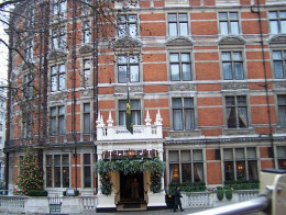 The Connaught hotel in Mayfair, London