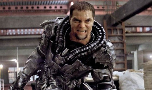 Michael Shannon did a great job as General Zod.