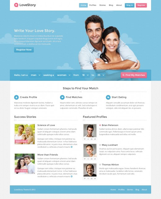 Dating websites business