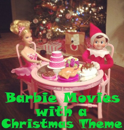 Watch Barbie movies with a Christmas theme with your family