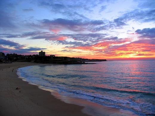 Sunrise at Coogee Beach