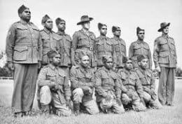 In Australia, Aboliginals enlisted in World War One and World War Two.  They were good enough to fight but not good enough to have voting rights.