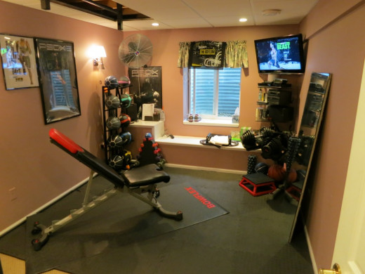 cool workout room