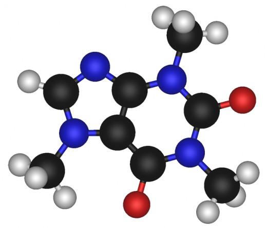 The caffeine molecule - so small but so powerful