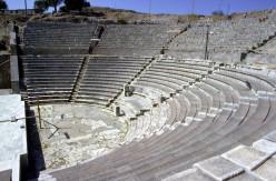 Roman theater at lower Pergamum.