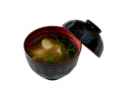 Miso: A delicious Japanese soup.