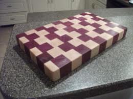 Purpleheart Wood Cutting Board