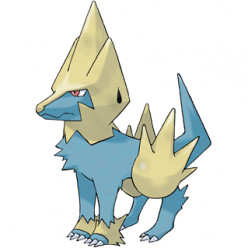 Pokémon X and Y Walkthrough, Pokémon Move Sets: Manectric