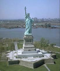 Liberty Statue on Ellis Island