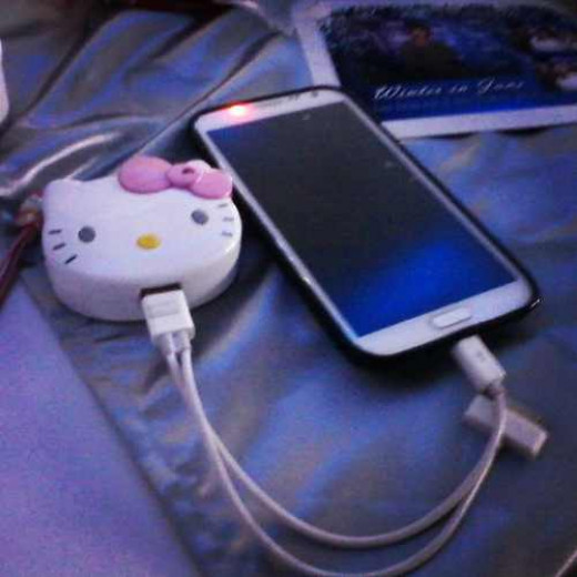 Hello Kitty portable charger