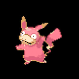 Photo withheld due to frightening smugness, instead here is Pikachu fused with Slowbro to form Slowchu