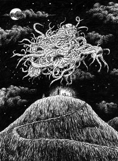 Lovecraftian entity that may be the basis of the Flying Spaghetti Monster